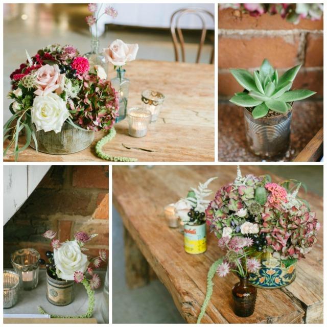 Shustoke farm barn wedding flowers