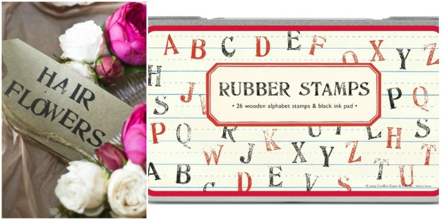 rubber alphabet stamps